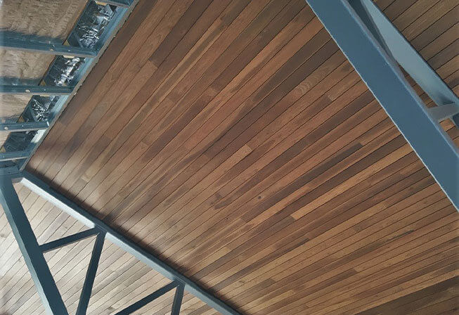 Custom Americana™ Thermally Modified Wood Applications