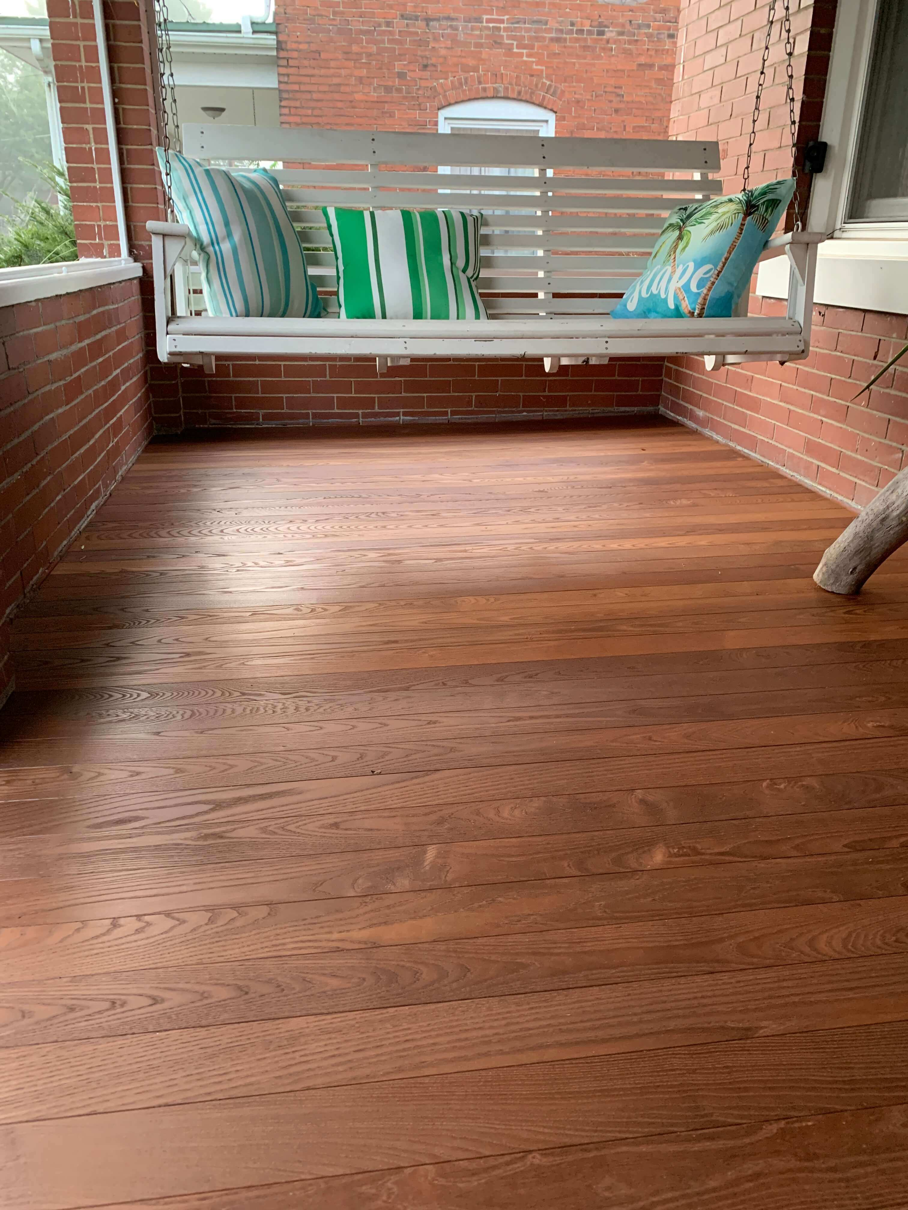 Americana Thermally Modified Wood Porch Flooring